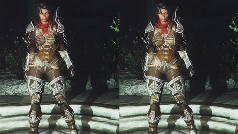 Skyrim Seven Base Armor Mods | sevenbase conversions bombshell and cleavage bbp