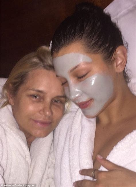 yolanda foster shape face yolanda foster shares instagram snap with daughter bella