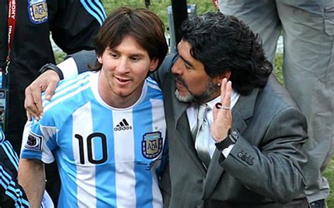 maradona and messi in a local malayalam film poster diego maradona questions lionel messi s commitment to