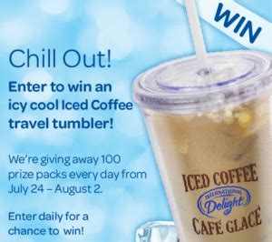 Free Finder Canada Win International Delight Travel Tumbler Free Stuff