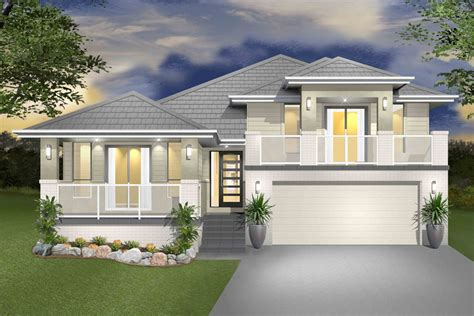 sloping house plans house designs sloped land sloping block home melbourne building plans online 40475