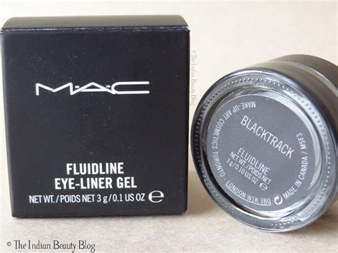 Mac Gel Eyeliner mac fluidline eyeliner gel blacktrack review