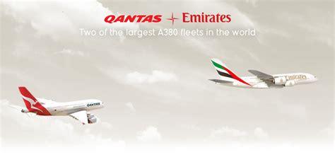 emirates qantas points qantas and emirates partnership qantas