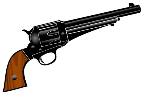 pistol images gun pistol vector clipart clipart suggest