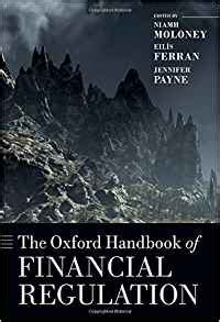 the oxford handbook of financial regulation oxford