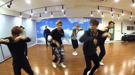tutorial dance growl exo growl mirrored dance practice korean ver youtube