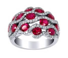 Exotic burmese ruby ring with pave set diamonds alexis diamond