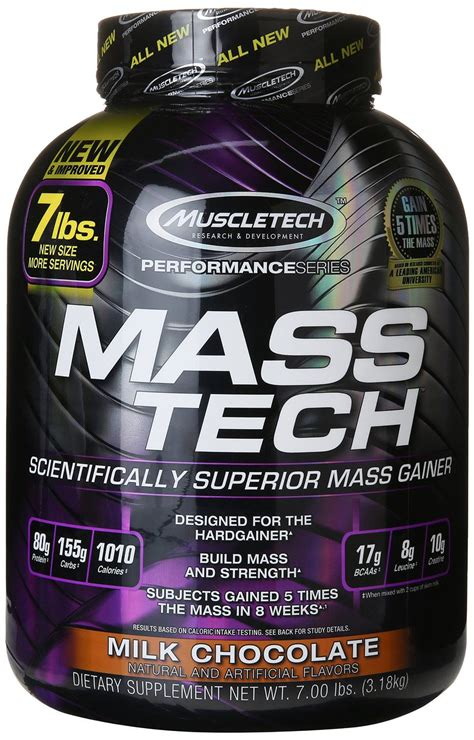 Masstech Muscletech muscletech masstech performance series milk chocolate 7