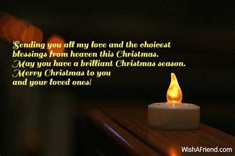 sending    love  christmas