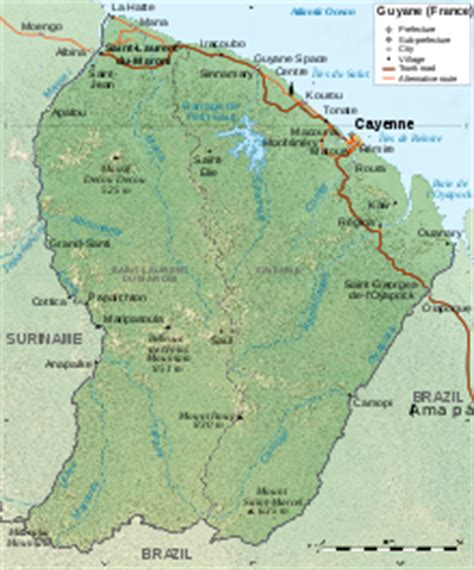 5 themes of geography guyana french guiana