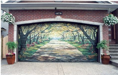 cool garage doors cool garage door art cool things pictures videos