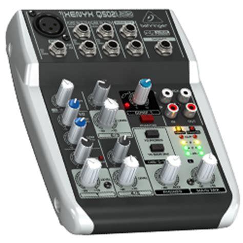 Behringer Xenyx Q502usb Premium 5 Input 2 Mixer Berkualitas behringer q502usb xenyx premium 5 input 2 mixer with xenyx mic pre and compressor