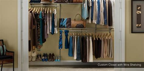 Rowan Closet by Wire Closets Free Consultation Affordable Design