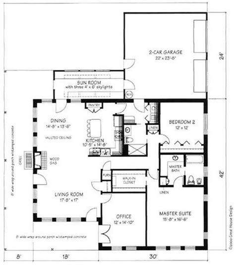 simple concrete block house plans