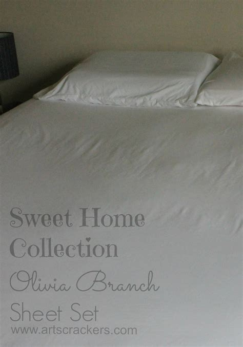 sweet home best sheets sweet home collection olivia branch bed sheet set review