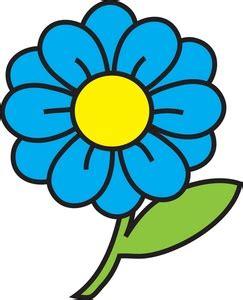 Bud Light Margaritas Flower Clipart Image Clip Art Illustration Of A Blue