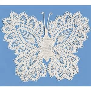 Mary maxim butterfly doily