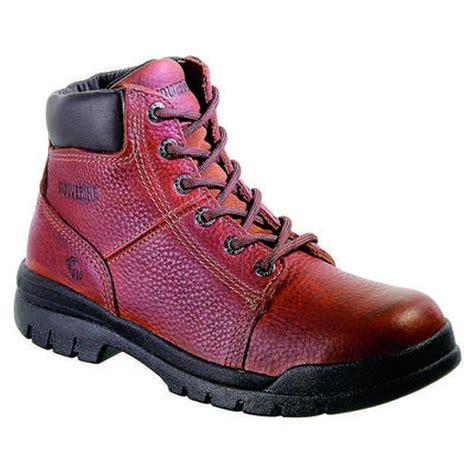 wolverine s 6 in slip resistant work boots w04735