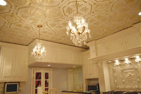 American Tin Ceiling Company by Beautiful Dining Room Ceiling With Tin Tiles Midcentury