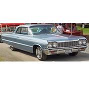1964 Chevrolet Impala Hardtop  Blue Front Angle