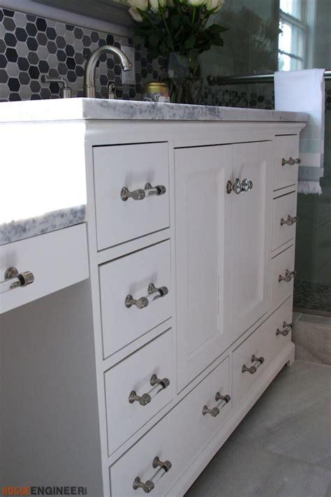 48 bathroom vanity plans 48in bathroom vanity 187 rogue engineer