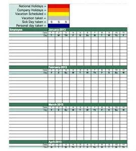 Employee Performance Tracking Template by Attendance Tracking Template 10 Free Sle Exle