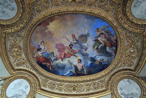 Fresque Plafond by Fresque Sur Le Plafond Louvre Photographie 233 Ditorial