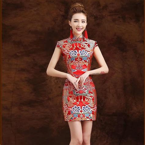 Modern Qibao 3 aliexpress buy traditional dress qipao modern cheongsam mini dress china