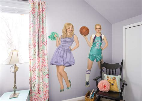 liv and maddie room liv and maddie wall decal shop fathead 174 for liv and maddie decor