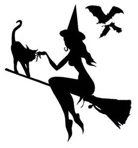 Witch Silhouette Template by 25 Best Ideas About Witch Silhouette On