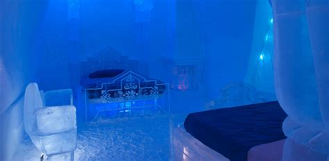 theme hotel de glace frozen themed hotel suite is hot with fans abc news