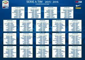 Calendario Serie A Roma Juventus Calendario Serie A Partite Di Oggi 18 Ottobre 2015 Inter