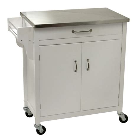 Stainless Steel Kitchen Island Cart | kitchen island cart stainless steel top kitchen design