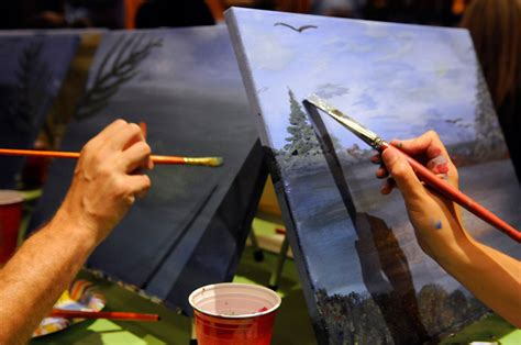 paint nite west hartford ct eye contact photo paint nite hartford