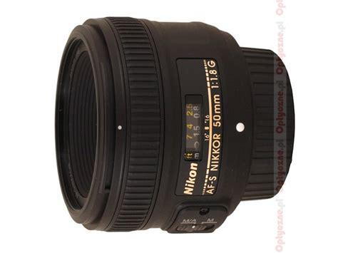 Diskon Nikon Lensa Afs 50mm F 1 8g Af S 50 Mm F 1 8 G Free nikon nikkor af s 50 mm f 1 8g review introduction lenstip