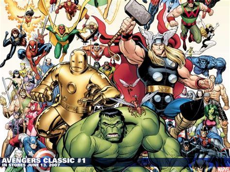 classic marvel wallpaper avengers classic 2007 1 wallpaper avengers