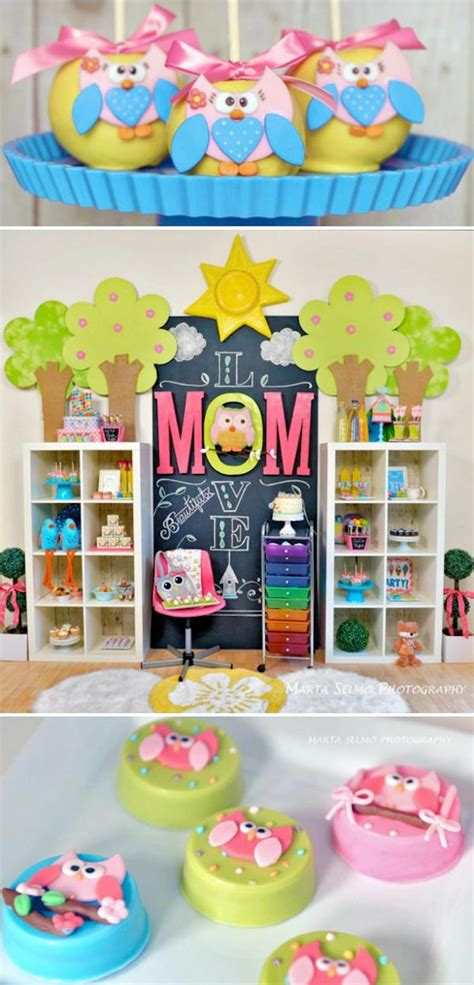 cute themes for birthday parties 216 best images about owl baby shower ideas on pinterest