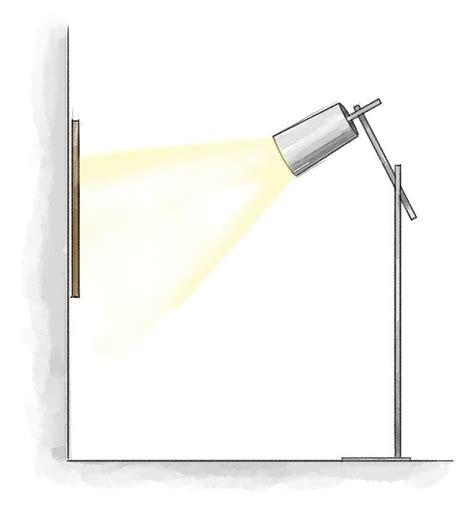 illuminazione per quadri illuminare i quadri dal basso dall alto o con luce