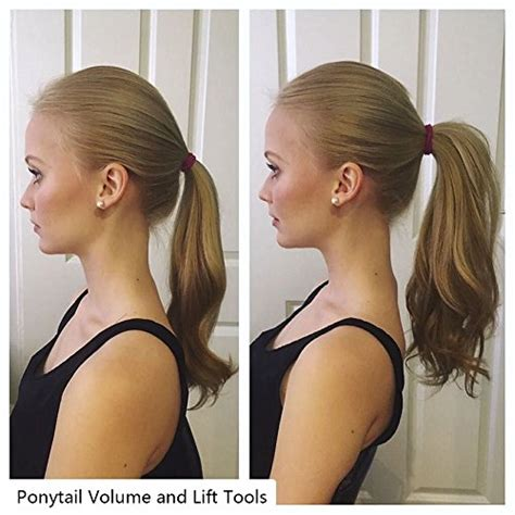 pony tail lift new jersey beauty hair ponytail holder and enhancer perfect volume
