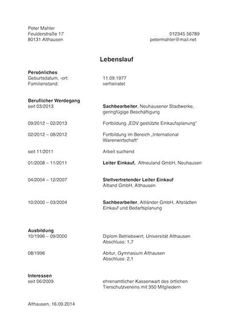 Lebenslauf Muster Arbeit Arbeitslosigkeit Im Lebenslauf Erkl 228 Ren Karrierebibel De