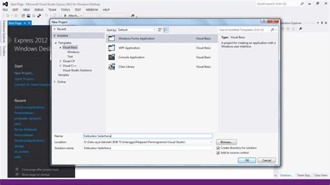 aplikasi membuat erd membuat aplikasi kalkulator sederhana di vb 2012