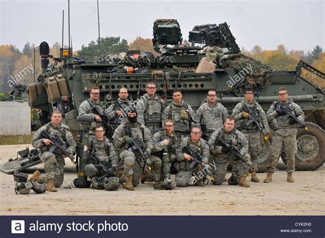 U S Army u s army soldiers 4th squadron 2nd cavalry regiment