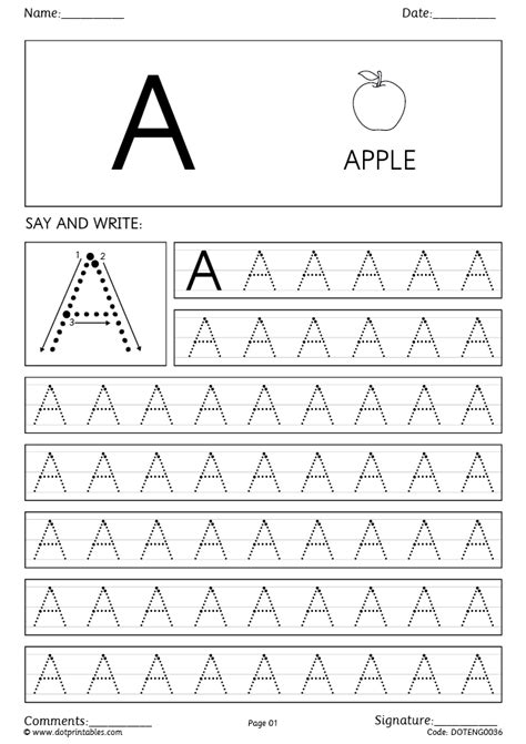dot simple and cursive handwriting worksheets for