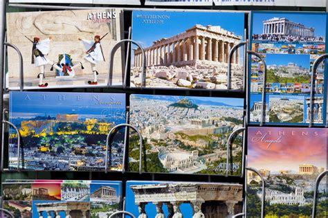 cartes postales from greece b017rkcdxc kiosque 224 journaux avec des cartes postales de gr 232 ce image stock 233 ditorial image du postcard