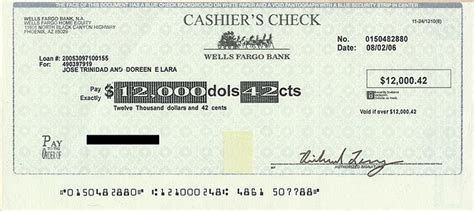 File Well S Fargo Counterfit Cashier S Check Jpg Wikimedia Commons Cashiers Check Template
