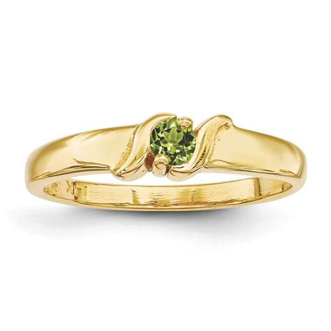 gold 1 to 5 s ring