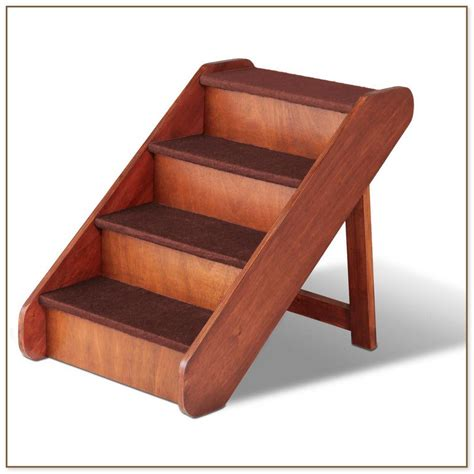 dog bed steps pet stairs small dogs cats older r for tall bed steps