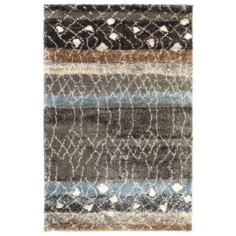 mohawk home forte dark cocoa 8 ft x 10 ft area rug the mohawk home adona brindle 8 ft x 10 ft area rug 489465
