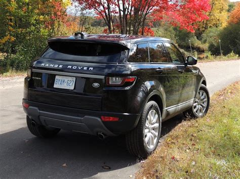 range rover back 2016 2016 range rover evoque hse review wheels ca