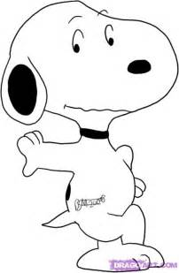draw snoopy step step comic book characters
